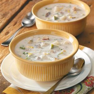Crab and Corn Chowder Recipe