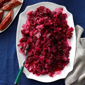 Cranberry-Apple Red Cabbage Recipe
