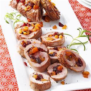 Cranberry-Apricot Pork Tenderloins Recipe