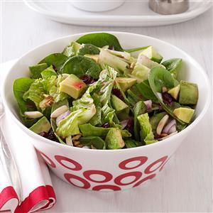 Cranberry-Avocado Tossed Salad Recipe