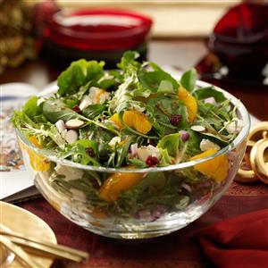 Cranberry Balsamic Salad Recipe