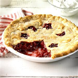 Cranberry-Cherry Nut Pie Recipe