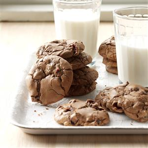 Cranberry Chocolate Cookies with a Kick Recipe