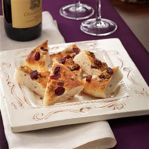 Cranberry Focaccia Recipe