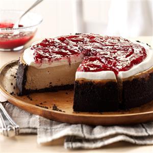 Cranberry Mocha Cheesecake Recipe