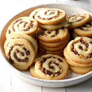 Cranberry Nut Swirls Recipe