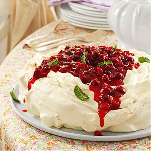 Cranberry Pavlova Recipe
