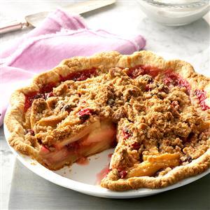 Cranberry Pear Crisp Pie Recipe