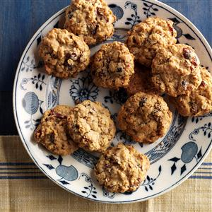 Cranberry Pecan Oatmeal Cookies Recipe
