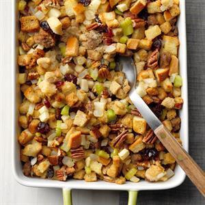 Cranberry Pecan Stuffing Recipe