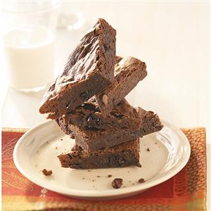Cranberry-Port Fudge Brownies Recipe
