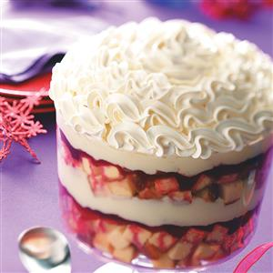 Cranberry-White Chocolate Trifle