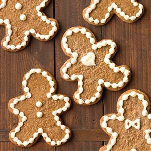 Cream Cheese Frosted Gingerbread Men Recipe