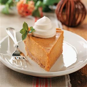 Cream Cheese Pumpkin Pie Recipe