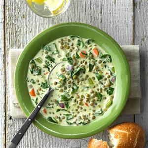 Cream of Lentil Soup Recipe