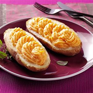 Creamy Butternut Twice-Baked Potatoes Recipe