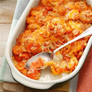 Creamy Carrot Casserole Recipe