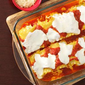 Creamy Chicken Lasagna Roll-Ups Recipe