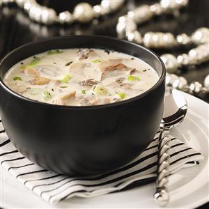 Creamy Garlic & Mushroom Soup Recipe