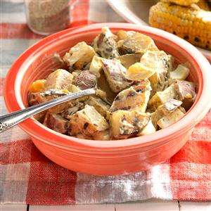 Creamy Grilled Potato Salad