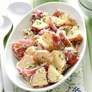 Creamy Italian Potato Salad Recipe