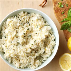 Creamy Lemon Rice Recipe