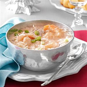 Creamy Seafood Bisque Recipe