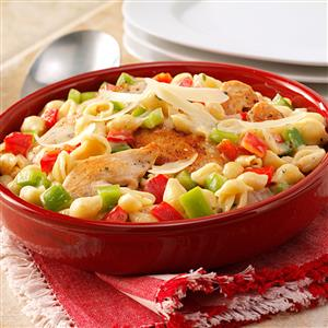 Creamy Shells and Chicken Recipe