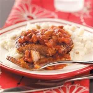 Creole Pork Chops Recipe