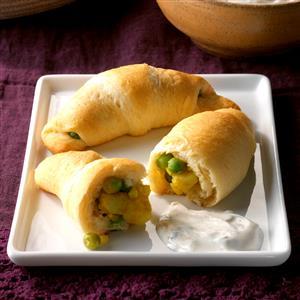 Crescent Samosas Recipe