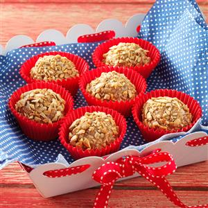 Crispy Almond Butter Truffles Recipe