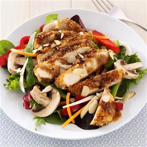 Crispy Asian Chicken Salad Recipe