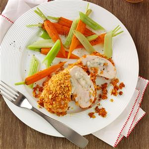 Crispy Buffalo Chicken Roll-Ups for Two Recipe