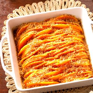Crunchy Honey-Glazed Butternut Squash Recipe