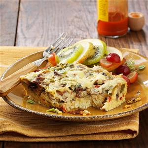 Crustless Quiche Bake Recipe
