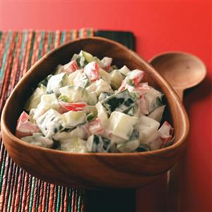 Cucumber Salad for Two Recipe