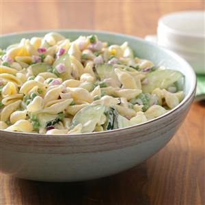 Cucumber Shell Salad Recipe