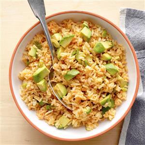 Cumin  Rice with Avocado Recipe