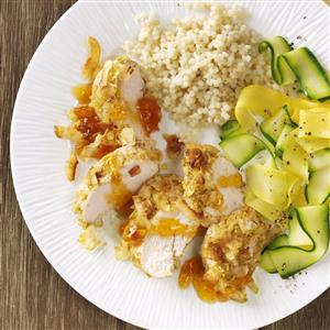 Curried Coconut Chicken for Two Recipe