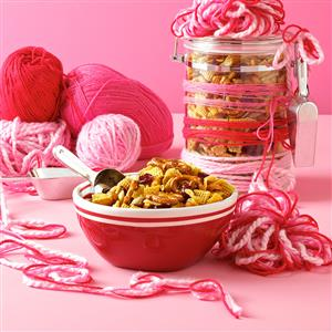 Curried Cranberry Snack Mix Recipe