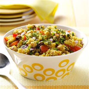 Curried Quinoa and Chickpeas Recipe