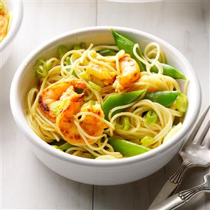 Curried Shrimp Pasta Recipe
