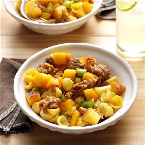 Curried Squash & Sausage Recipe