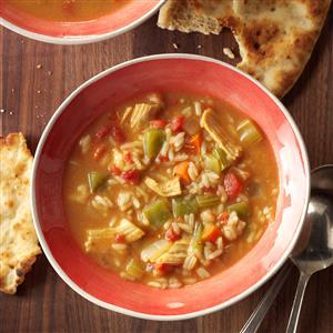 Curried Turkey Soup Recipe