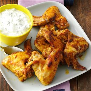 Curry & Mango Chutney Chicken Wings Recipe
