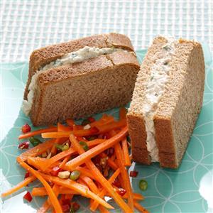 Curry & Parmesan Tuna Salad Recipe