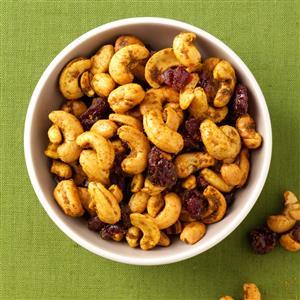 Curry Spiced Cashews Recipe
