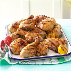 Dad's Lemony Grilled Chicken Recipe