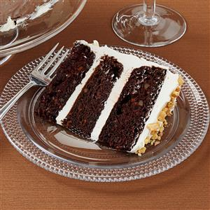 Dark Chocolate Carrot Cake Recipe