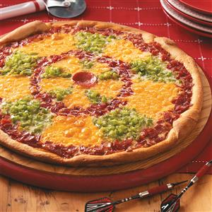 Dartboard Pizza Recipe